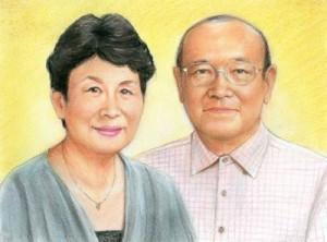 リアルタッチ色鉛筆ご両親